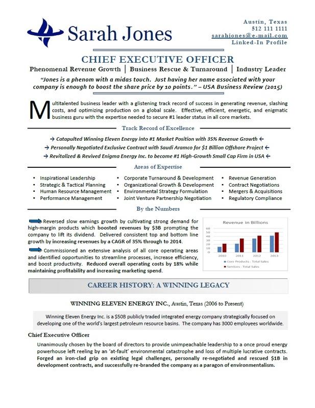 Victoria Executive Resume Services - Award-Winning Certified Master Resume Writer